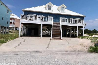 Gulf Shores Single Family Home For Sale: 1505 Sandy Lane