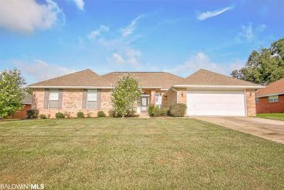 Loxley Single Family Home For Sale: 25261 Lakeland Drive