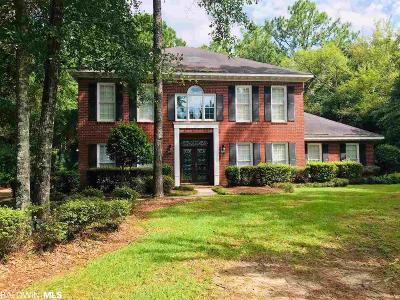 Mobile County Single Family Home For Sale: 6408 Tokeneak Trail