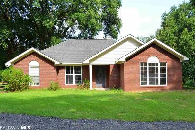 Robertsdale Single Family Home For Sale: 24760 County Road 71