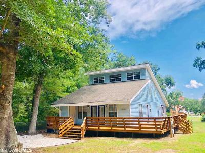 Orange Beach Single Family Home For Sale: 27203 Park Drive