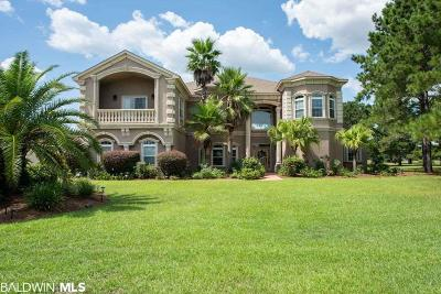 Gulf Shores Single Family Home For Sale: 306 Cypress Lake Drive