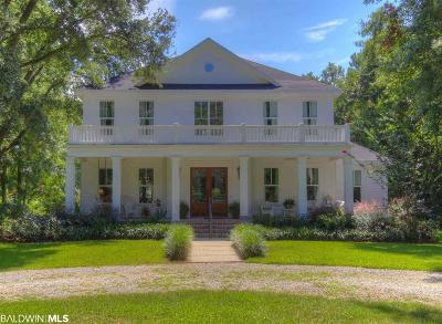 Fairhope Single Family Home For Sale: 16596 Scenic Highway 98