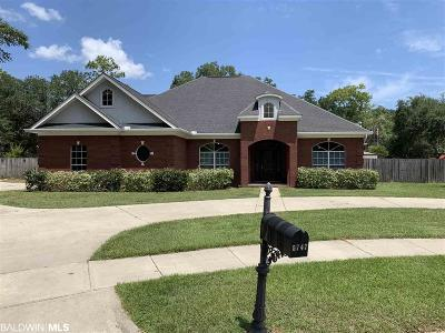 Mobile County Single Family Home For Sale: 5747 Hannah Court
