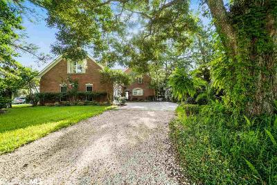 Mobile County Single Family Home For Sale: 2895 Patricks Pond Rd