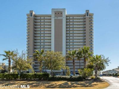 Gulf Shores Condo/Townhouse For Sale: 1010 W Beach Blvd #2006