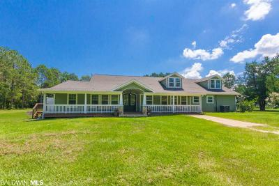 Summerdale Single Family Home For Sale: 17186 Calera Lane