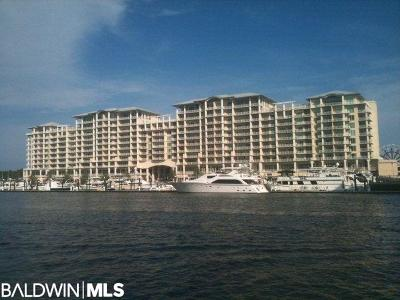 Orange Beach Condo/Townhouse For Sale: 4851 Wharf Pkwy #515