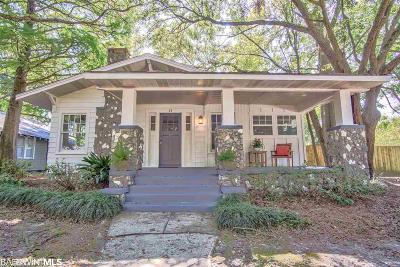 Mobile County Single Family Home For Sale: 63 Bienville Avenue