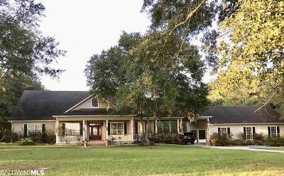 Baldwin County Single Family Home For Sale: 19885 Adams Acres Road