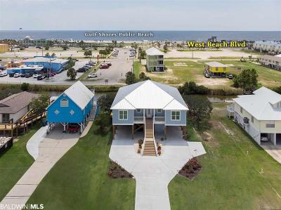 Gulf Shores Single Family Home For Sale: 203 W 3rd Avenue