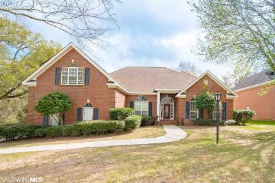 Mobile County Single Family Home For Sale: 3405 Oakridge Lane