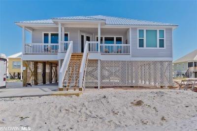 Gulf Shores Single Family Home For Sale: 6105 S South Sea Circle