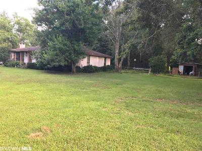 Foley Single Family Home For Sale: 717 W Section Av