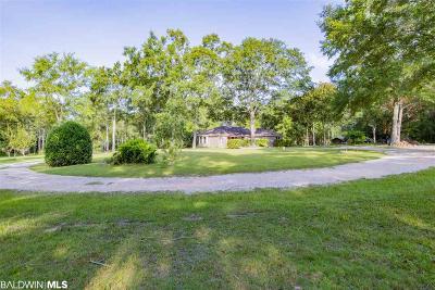 Baldwin County Single Family Home For Sale: 10130 Boynton Road