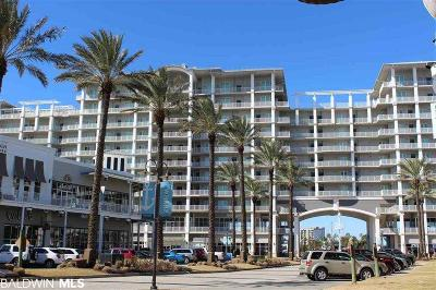 Orange Beach Condo/Townhouse For Sale: 4851 Wharf Pkwy #914