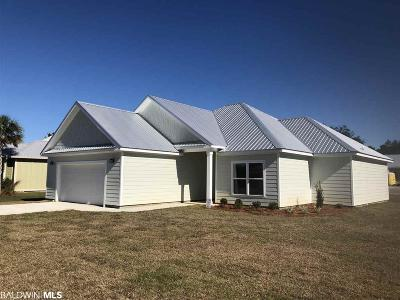 Gulf Shores Single Family Home For Sale: 1216 Dorado Way