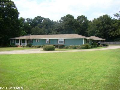 Fairhope Single Family Home For Sale: 7801 Old Battles Road