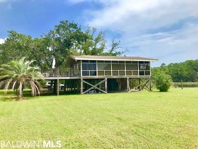 Elberta Single Family Home For Sale: 26230 Bayou Drive