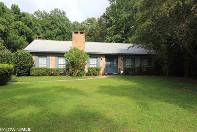 Daphne Single Family Home For Sale: 1106 Captain O'neal Drive