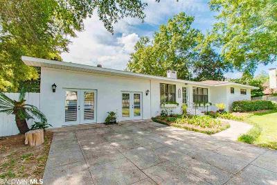 Fairhope Single Family Home For Sale: 808 Coleman Avenue