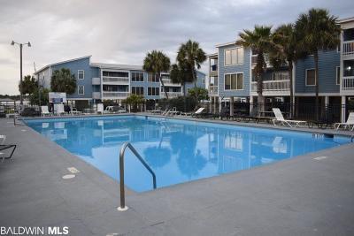 Gulf Shores Condo/Townhouse For Sale: 1872 W Beach Club #G 101