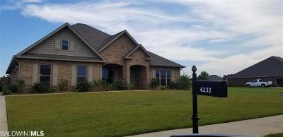 Gulf Shores Single Family Home For Sale: 4232 Craigend Lp