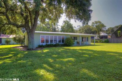 Fairhope Single Family Home For Sale: 14065 Scenic Highway 98