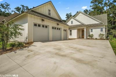 Fairhope Single Family Home For Sale: 465 Colony Drive