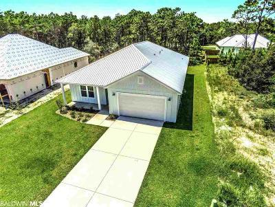 Gulf Shores Single Family Home For Sale: 1229 Dorado Way