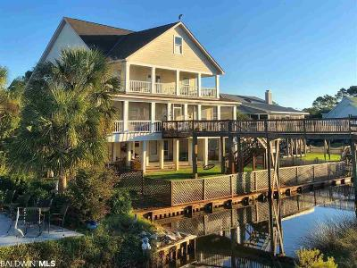 Gulf Shores Single Family Home For Sale: 17090 Lagoon Winds Dr