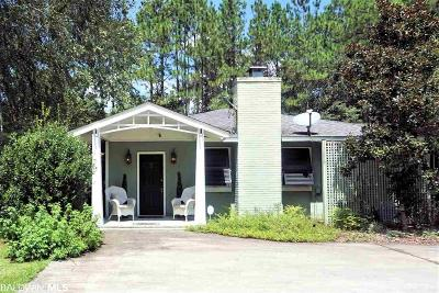 Gulf Shores Single Family Home For Sale: 4692 Peed Place Rd