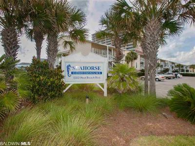 Gulf Shores Condo/Townhouse For Sale: 1500 W Beach Blvd #412