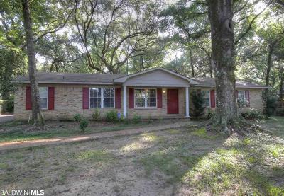 Magnolia Springs Single Family Home For Sale: 14069 Oak Street