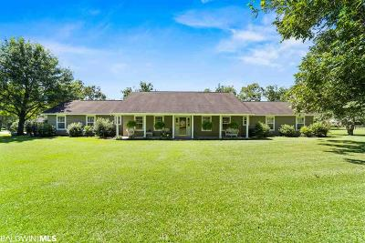 Fairhope Single Family Home For Sale: 12484 County Road 32