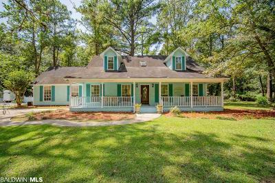 Loxley Single Family Home For Sale: 29450 Jenkins Farm Rd
