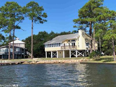 Gulf Shores Single Family Home For Sale: 17442 State Highway 180