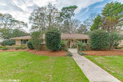 Fairhope Single Family Home For Sale: 111 Spring Drive