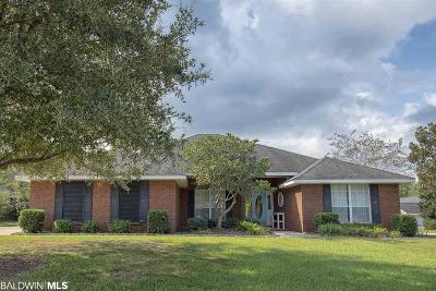 Bon Secour, Daphne, Fairhope, Foley, Magnolia Springs Single Family Home For Sale: 205 River Oaks Drive