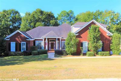 Bon Secour, Daphne, Fairhope, Foley, Magnolia Springs Single Family Home For Sale: 109 Easton Cir.