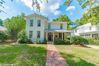 Bon Secour, Daphne, Fairhope, Foley, Magnolia Springs Single Family Home For Sale: 202 Grand Avenue