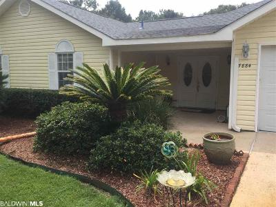 Single Family Home For Sale: 7884 Riverwood Dr
