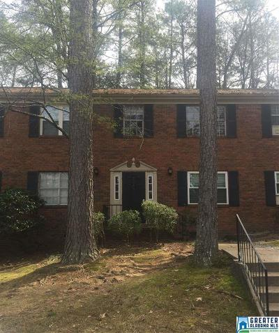 Vestavia Hills AL Condo/Townhouse For Sale: $75,900