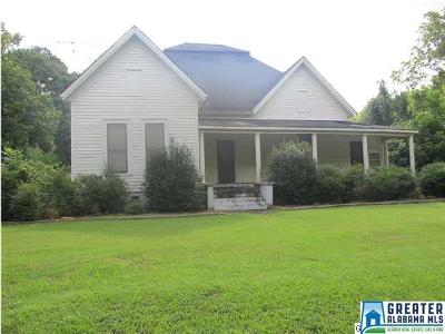 Clay County Single Family Home For Sale: 448 Hwy 31