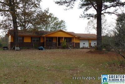 Talladega Single Family Home For Sale: 510 Jonesview Rd