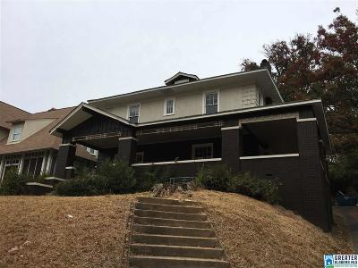 Birmingham AL Single Family Home Contingent: $189,000
