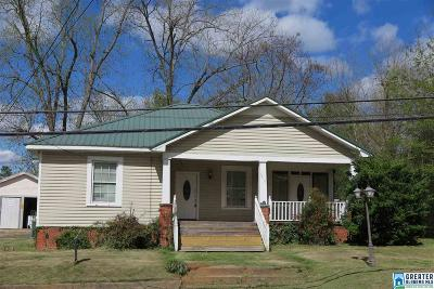 Roanoke AL Single Family Home For Sale: $59,900