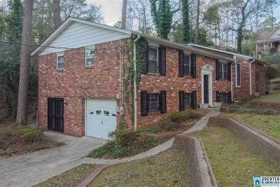 Homewood AL Single Family Home For Sale: $274,900