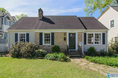 Homewood AL Single Family Home For Sale: $449,900