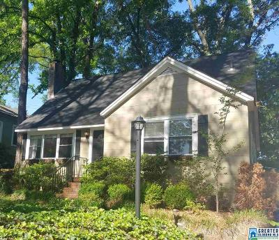 Homewood AL Single Family Home For Sale: $319,000